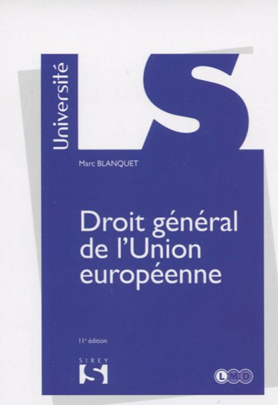 Droit general de l'Union 11ed 2018.png