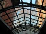 Manufacture des Tabacs, Hall d'entrée, plafond verrière